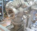UHV Chamber assembled for first test
