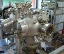 UHV vacuum chamber before testing