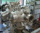 UHV vakuumska komora pred testiranjem
